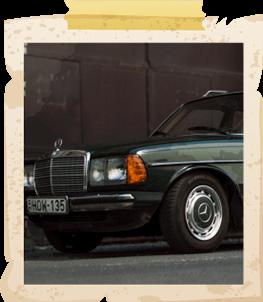 Mercedes Benz W123 kombi
